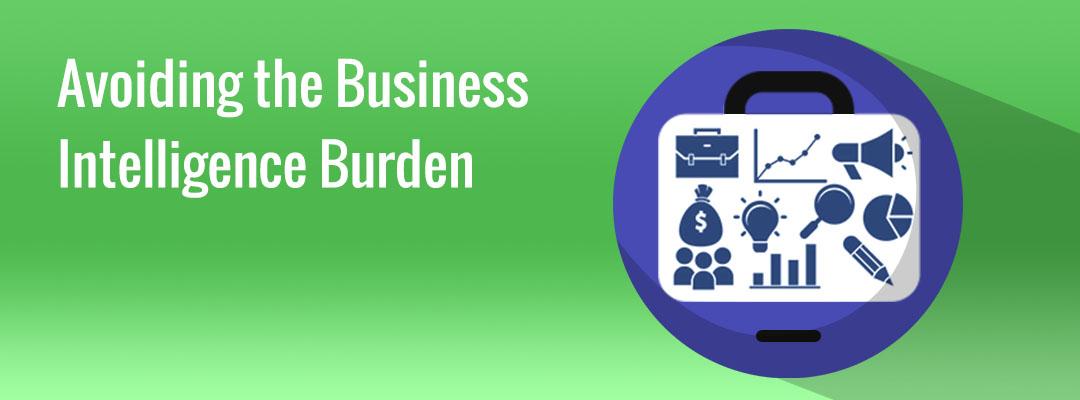 Avoiding the Business  Intelligence Burden